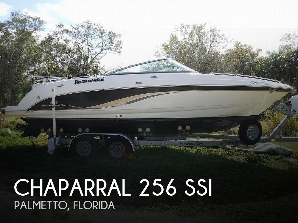 Used Chaparral SSi Boats For Sale by owner | 2005 Chaparral 256 SSI