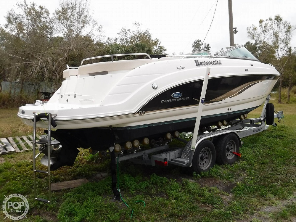 2005 Chaparral boat for sale, model of the boat is 256 SSi & Image # 21 of 40
