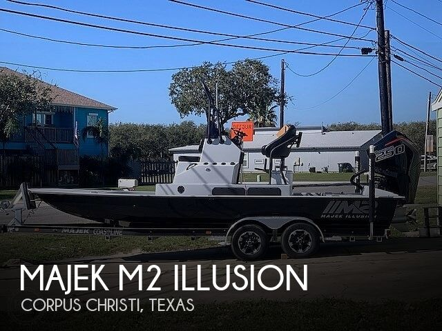 Used Boats For Sale in Corpus Christi, Texas by owner | 2021 Majek M2 Illusion