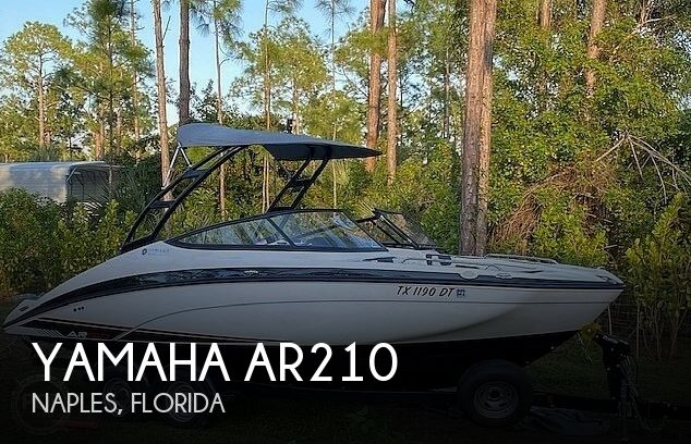 Used Yamaha Boats For Sale in Florida by owner | 2017 Yamaha ar210