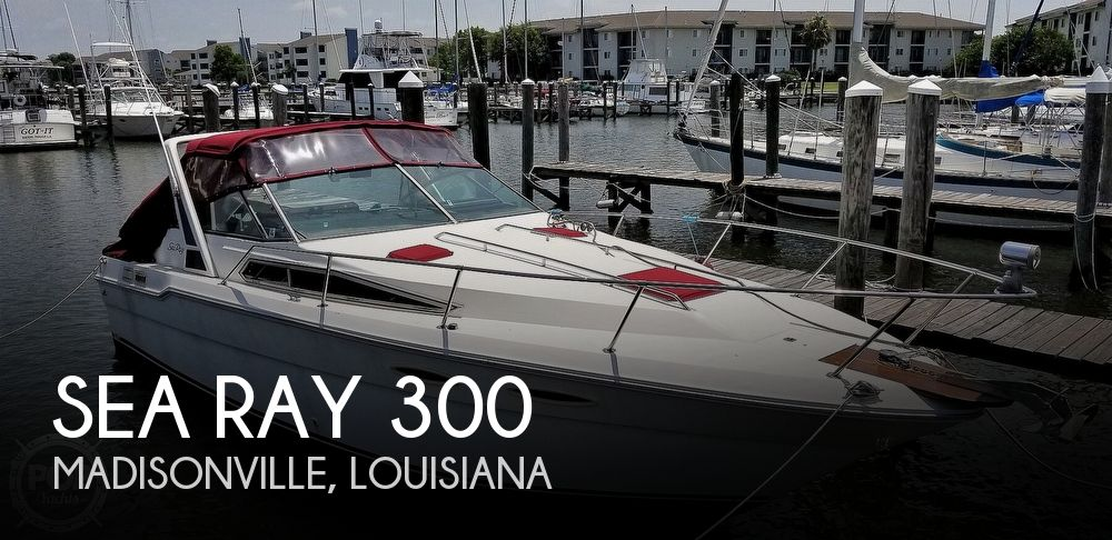 Used Sea Ray 300 Sundancer Boats For Sale by owner | 1988 Sea Ray 300 Sundancer