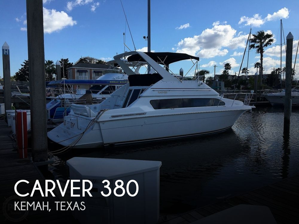 Used Carver 38 Boats For Sale by owner | 2000 Carver 380 Santego Flybridge Cruiser