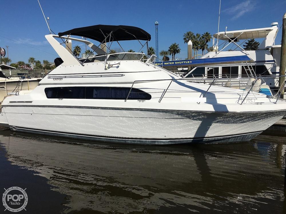 2000 Carver boat for sale, model of the boat is 380 Santego Flybridge Cruiser & Image # 2 of 40