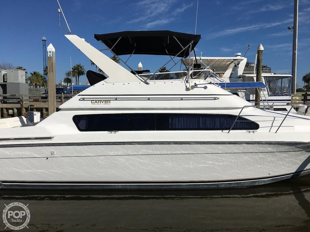 2000 Carver boat for sale, model of the boat is 380 Santego Flybridge Cruiser & Image # 13 of 40