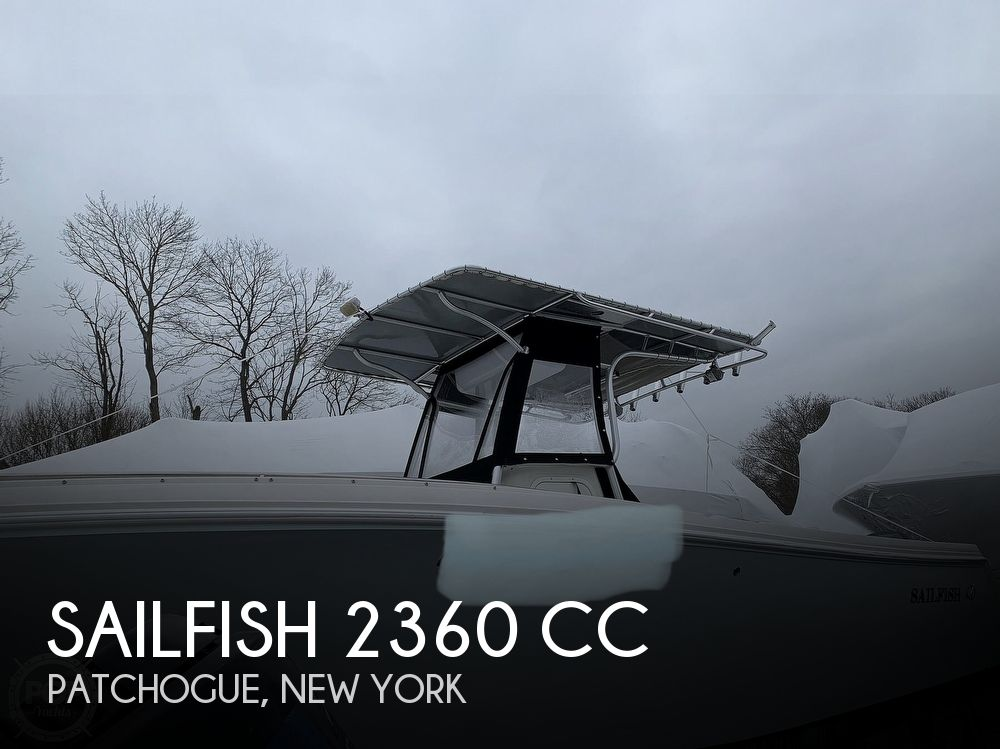 2011 Sailfish boat for sale, model of the boat is 2360 CC & Image # 1 of 40