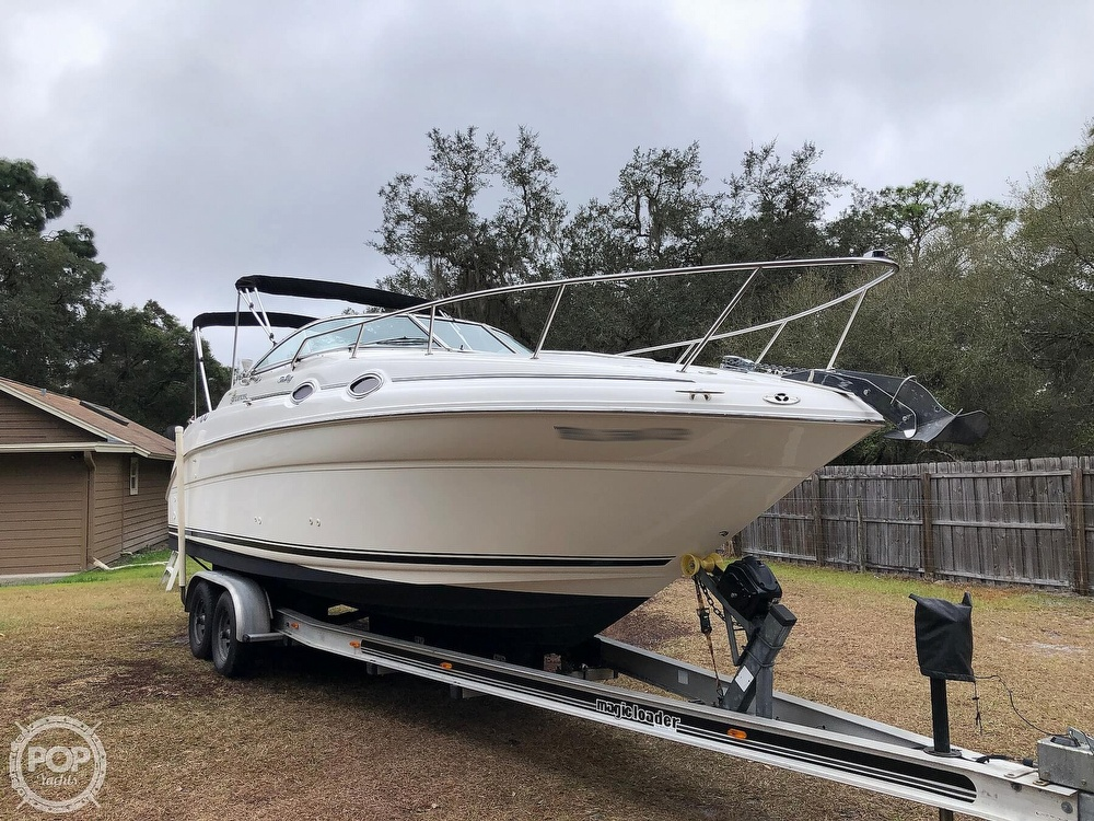 2001 Sea Ray boat for sale, model of the boat is 260 Sundancer & Image # 3 of 40