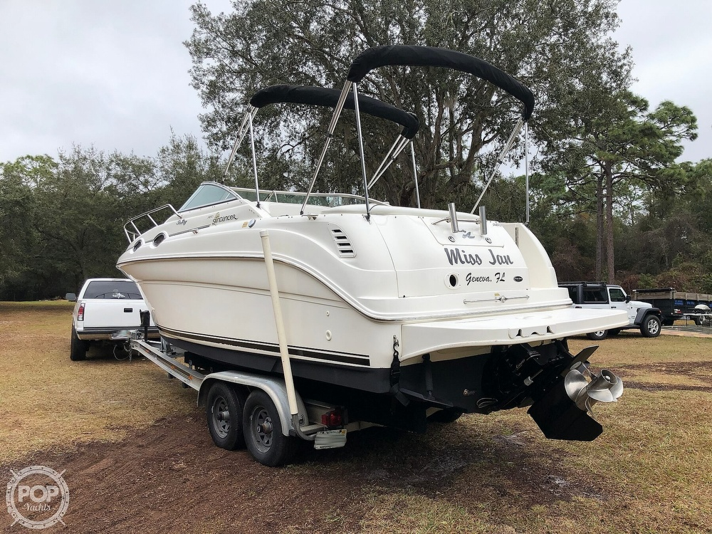2001 Sea Ray boat for sale, model of the boat is 260 Sundancer & Image # 30 of 40