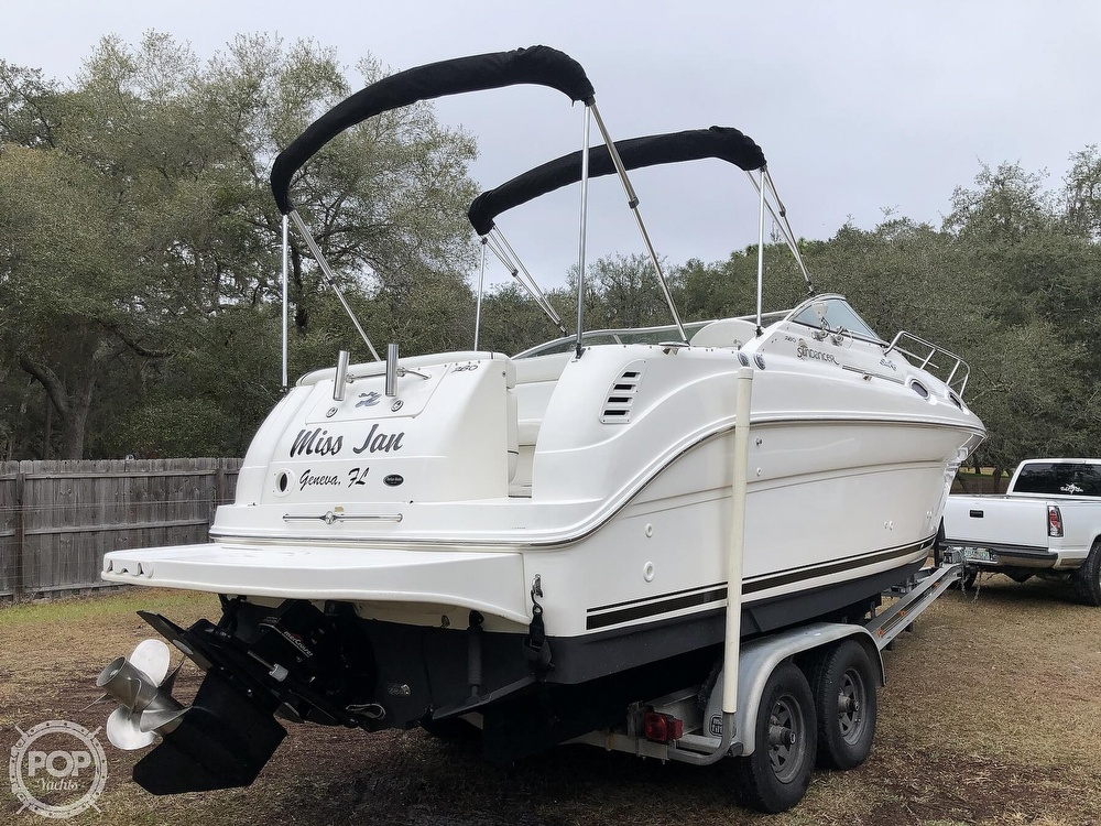 2001 Sea Ray boat for sale, model of the boat is 260 Sundancer & Image # 7 of 40