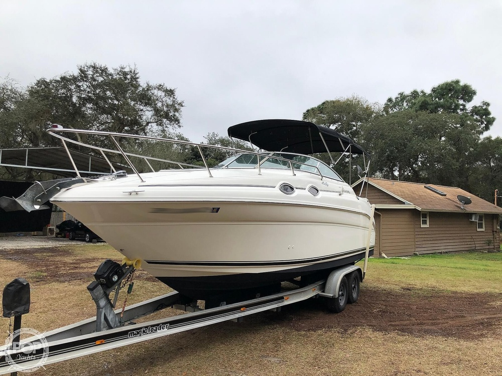 2001 Sea Ray boat for sale, model of the boat is 260 Sundancer & Image # 5 of 40