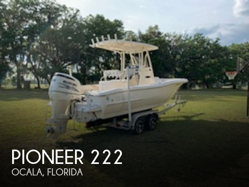 2014 PIONEER 222 SPORTFISH for sale
