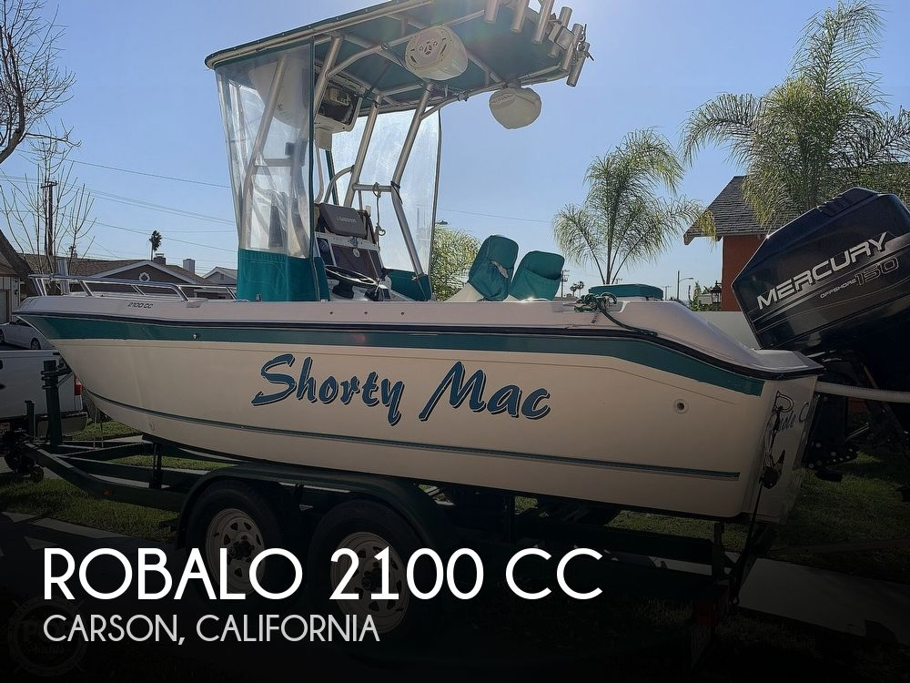1998 Robalo boat for sale, model of the boat is 2100 CC & Image # 1 of 40