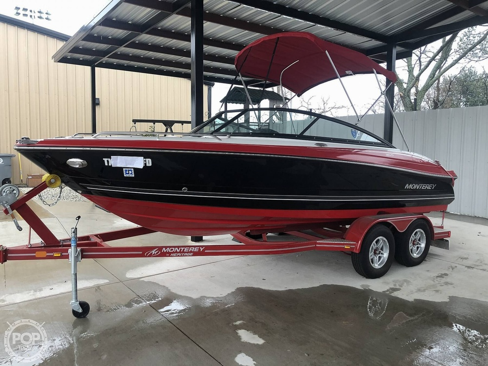 2018 Monterey boat for sale, model of the boat is 204FS & Image # 7 of 40