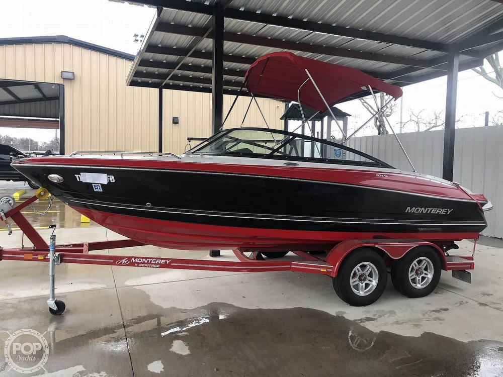2018 Monterey boat for sale, model of the boat is 204FS & Image # 14 of 40