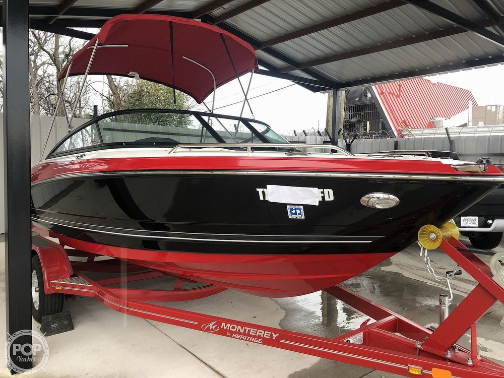 2018 Monterey boat for sale, model of the boat is 204FS & Image # 26 of 40