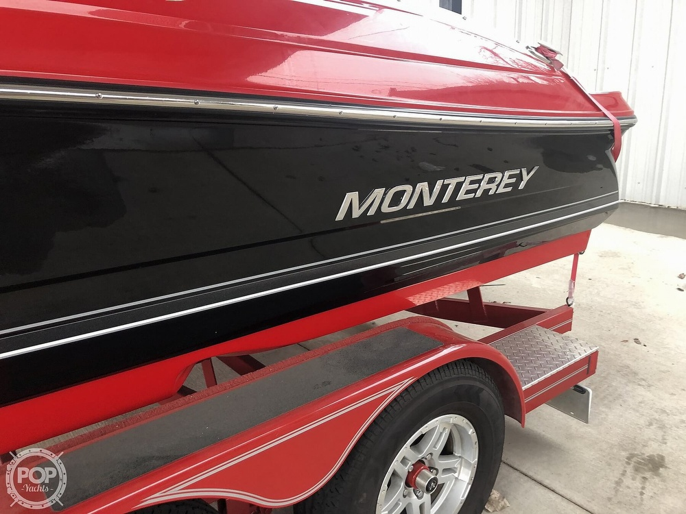 2018 Monterey boat for sale, model of the boat is 204FS & Image # 39 of 40