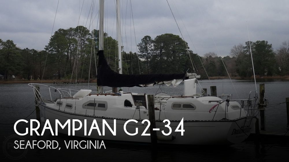 1973 Grampian boat for sale, model of the boat is G2-34 & Image # 1 of 40