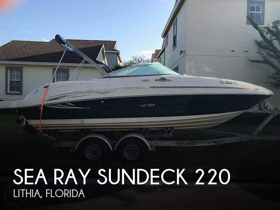 Used Sea Ray 22 Boats For Sale by owner | 2006 Sea Ray Sundeck 220
