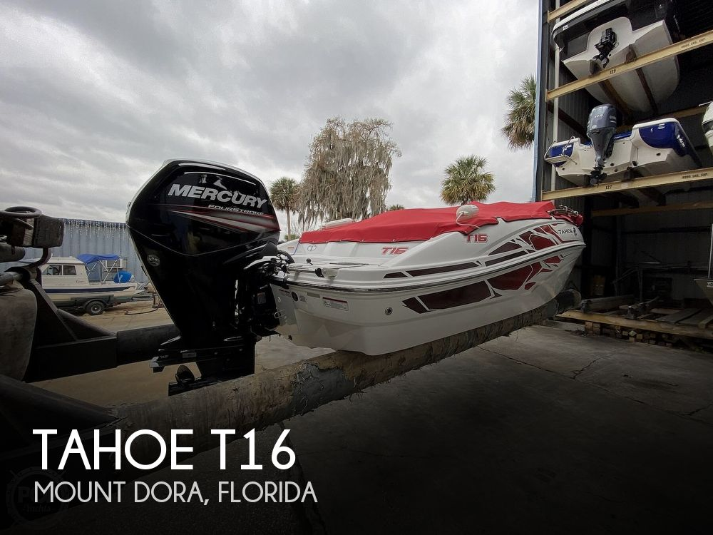 2020 Tahoe boat for sale, model of the boat is T16 & Image # 1 of 40