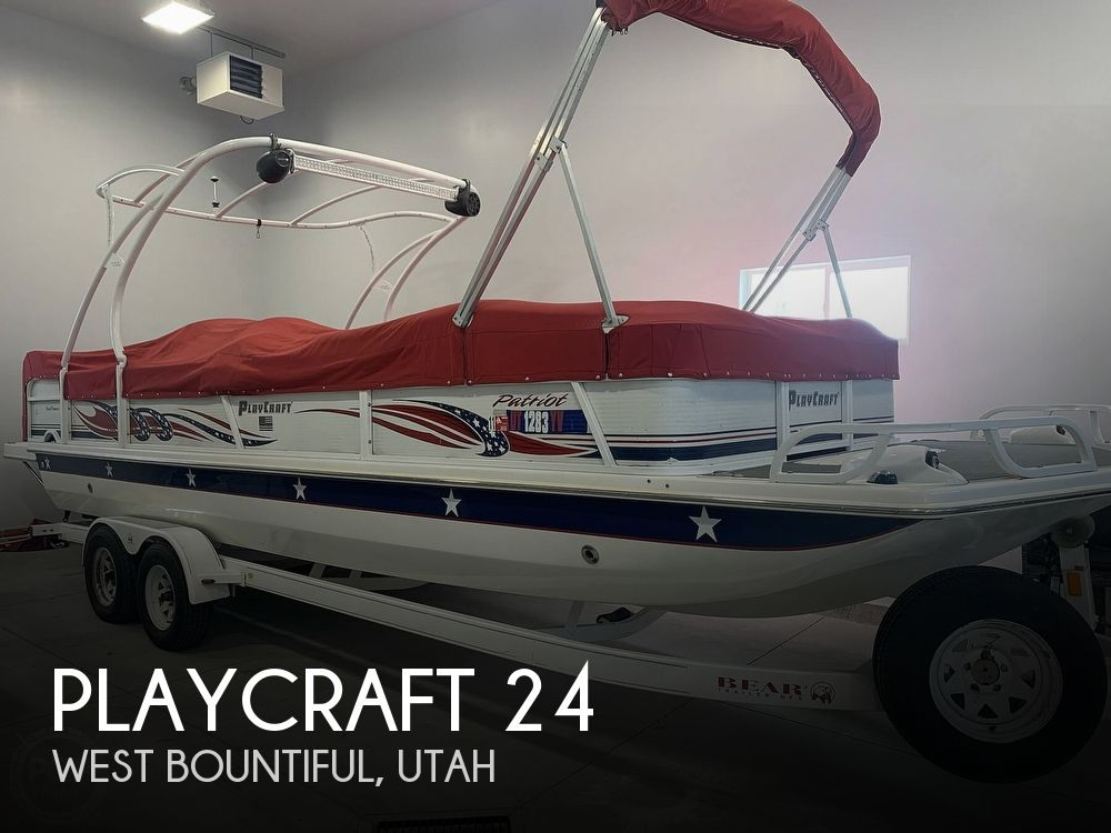 Used Playcraft Deck Boats For Sale by owner | 2007 24 foot Playcraft Deckcruiser