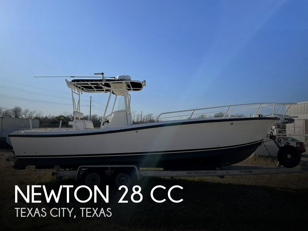 2003 Newton boat for sale, model of the boat is 28 CC & Image # 1 of 40