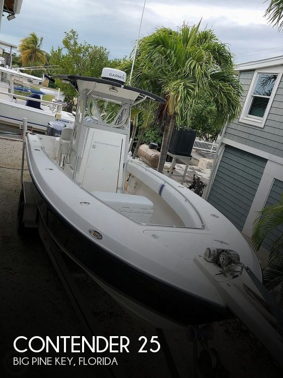 2000 Contender boat for sale, model of the boat is 25 Tournament & Image # 1 of 1