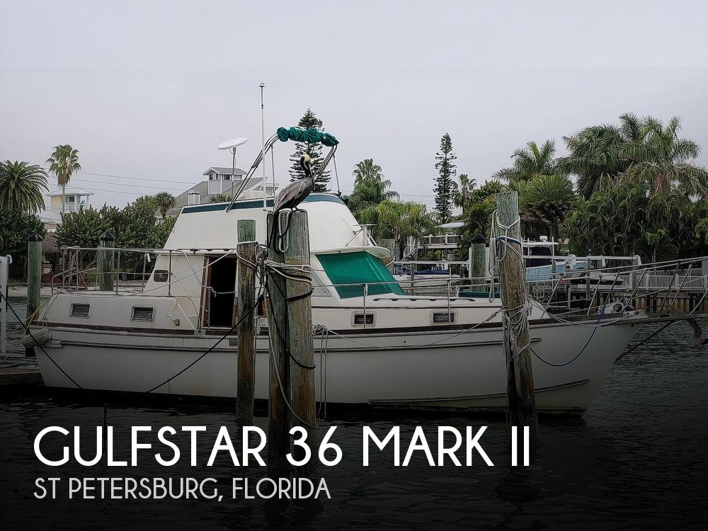 1974 Gulfstar boat for sale, model of the boat is 36 Mark II & Image # 1 of 40