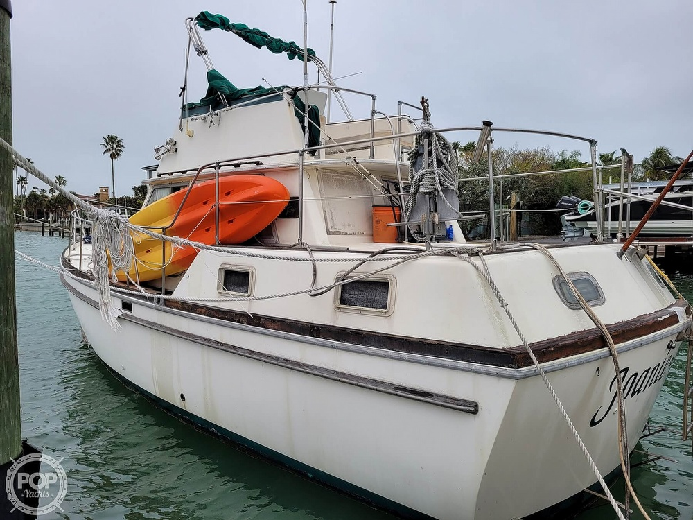 1974 Gulfstar boat for sale, model of the boat is 36 Mark II & Image # 2 of 40