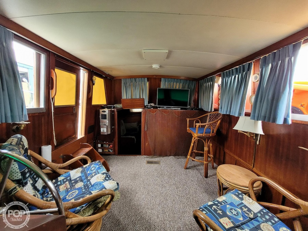 1974 Gulfstar boat for sale, model of the boat is 36 Mark II & Image # 3 of 40