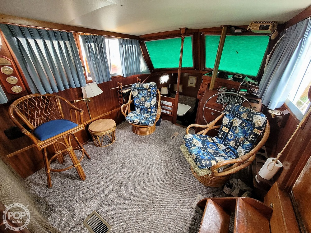 1974 Gulfstar boat for sale, model of the boat is 36 Mark II & Image # 4 of 40
