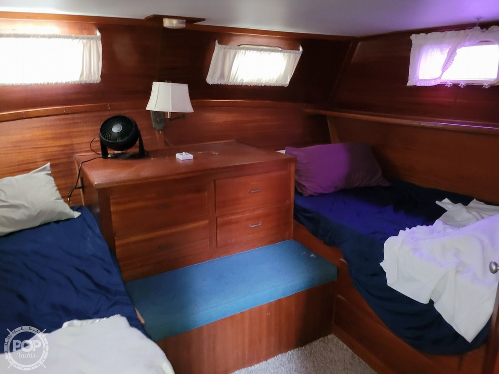 1974 Gulfstar boat for sale, model of the boat is 36 Mark II & Image # 6 of 40