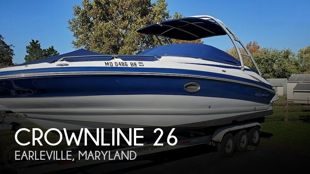 Used Crownline Boats For Sale in Lancaster, Pennsylvania by owner | 2009 Crownline 26