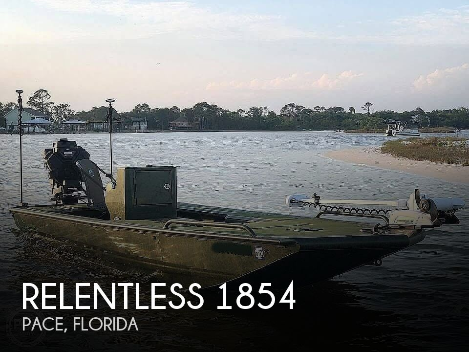 2019 Relentless boat for sale, model of the boat is 1854 & Image # 1 of 12