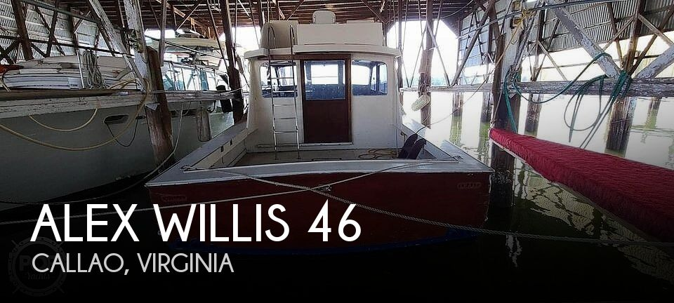1965 Alex Willis boat for sale, model of the boat is 46 & Image # 1 of 40