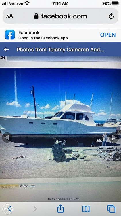 1965 Alex Willis boat for sale, model of the boat is 46 & Image # 2 of 40