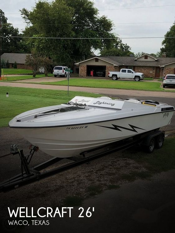 Used Wellcraft Boats For Sale in Texas by owner | 1988 26 foot Wellcraft Nova II Spyder