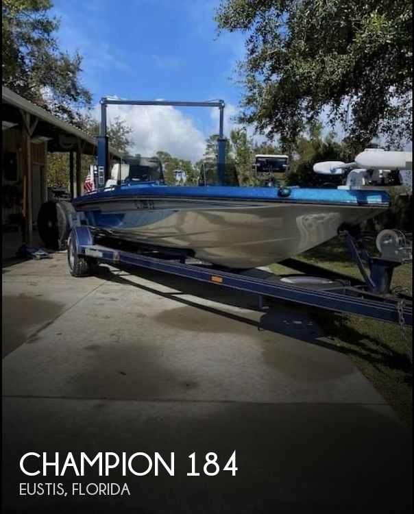 Used Champion Boats For Sale by owner | 1987 Champion 184 Fish & Ski 2020 Rebuild Fr