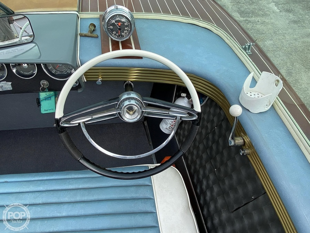 1961 Chris Craft boat for sale, model of the boat is Continental & Image # 17 of 40