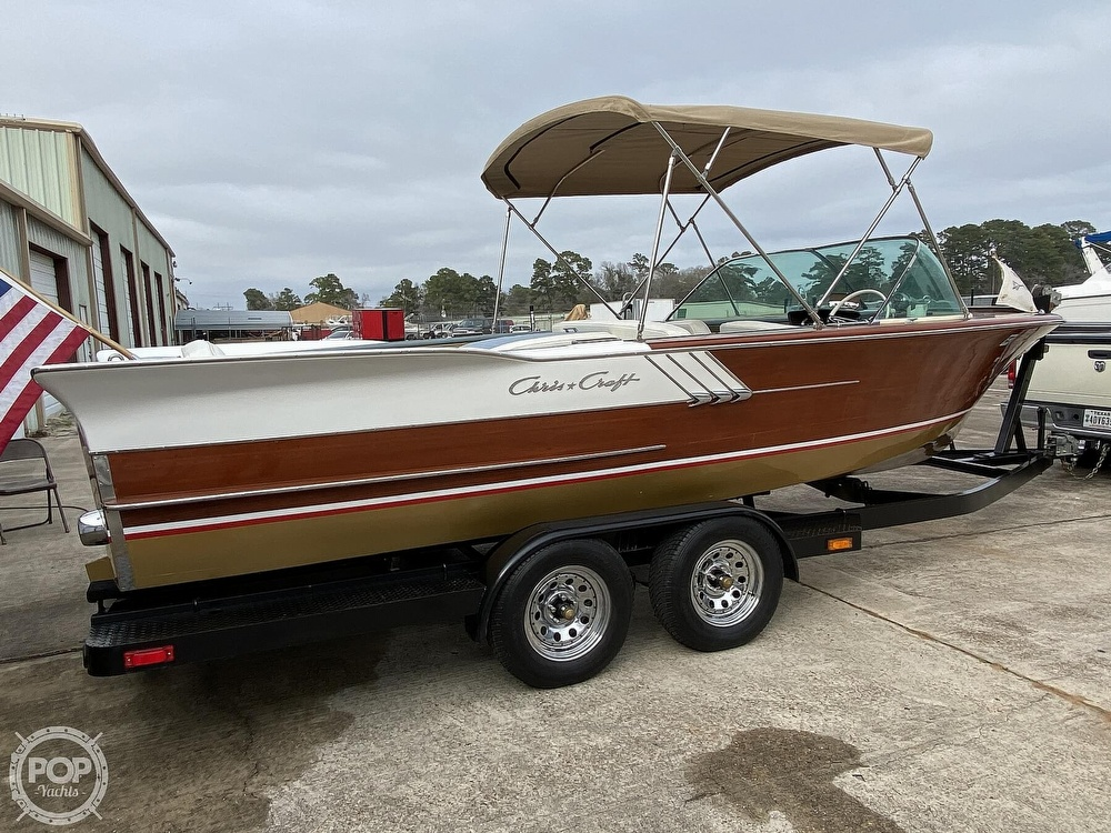1961 Chris Craft boat for sale, model of the boat is Continental & Image # 4 of 40
