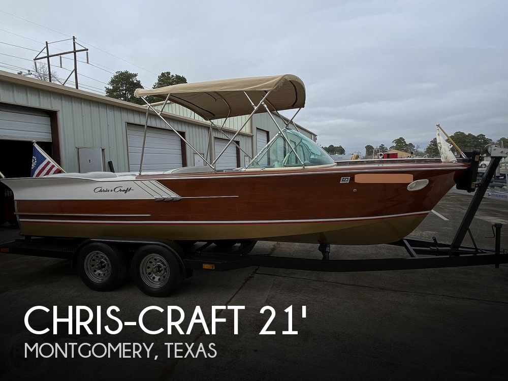 1961 Chris Craft boat for sale, model of the boat is Continental & Image # 1 of 40