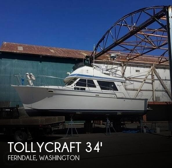 Used Tollycraft Boats For Sale in Washington by owner | 1982 Tollycraft 34