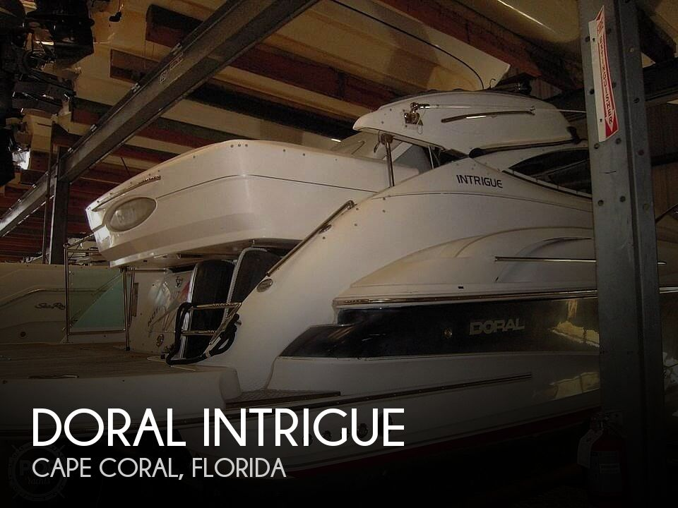 Used Doral Boats For Sale by owner | 2005 34 foot Doral Intrigue