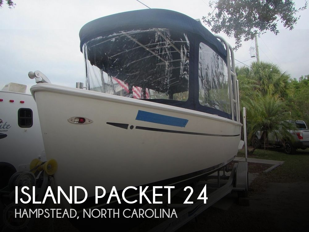2009 Island Packet boat for sale, model of the boat is Seascape L24e Electric Launch & Image # 1 of 40
