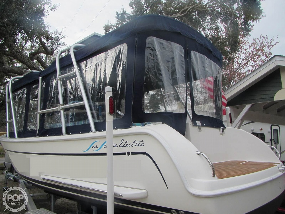 2009 Island Packet boat for sale, model of the boat is Seascape L24e Electric Launch & Image # 15 of 40