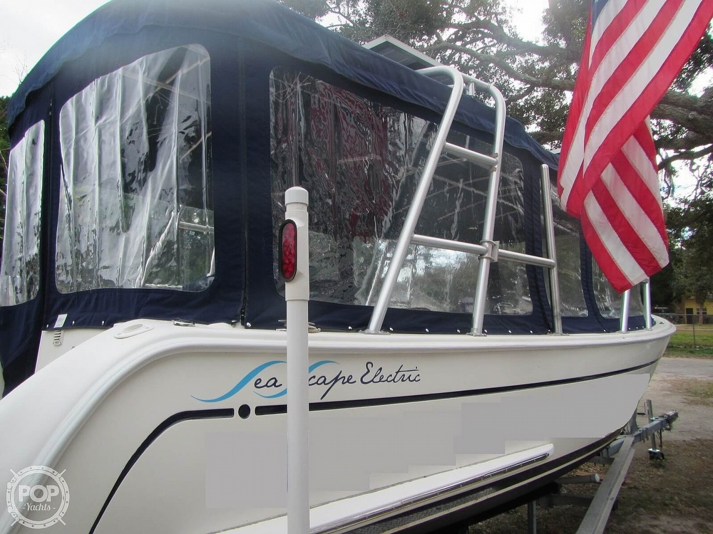 2009 Island Packet boat for sale, model of the boat is Seascape L24e Electric Launch & Image # 18 of 40