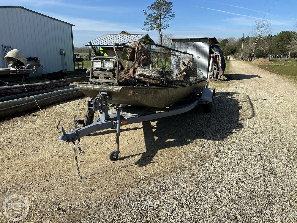 2016 Kliebert boat for sale, model of the boat is 18.8 With Hunt Deck x 48 Bottom & Image # 4 of 40