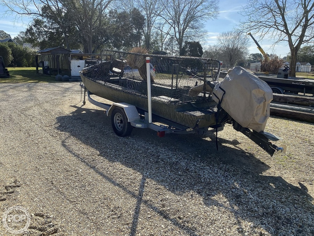 2016 Kliebert boat for sale, model of the boat is 18.8 With Hunt Deck x 48 Bottom & Image # 8 of 40