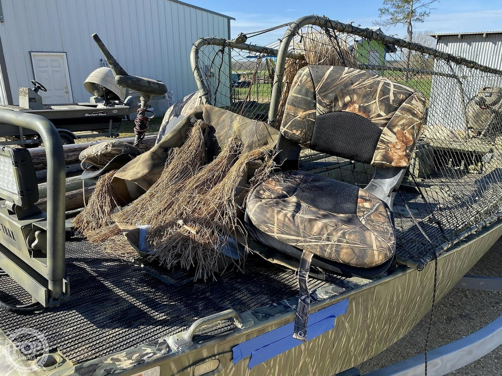 2016 Kliebert boat for sale, model of the boat is 18.8 With Hunt Deck x 48 Bottom & Image # 31 of 40