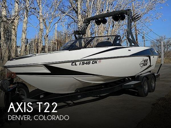 Used Boats For Sale in Boulder, Colorado by owner | 2017 Axis T22
