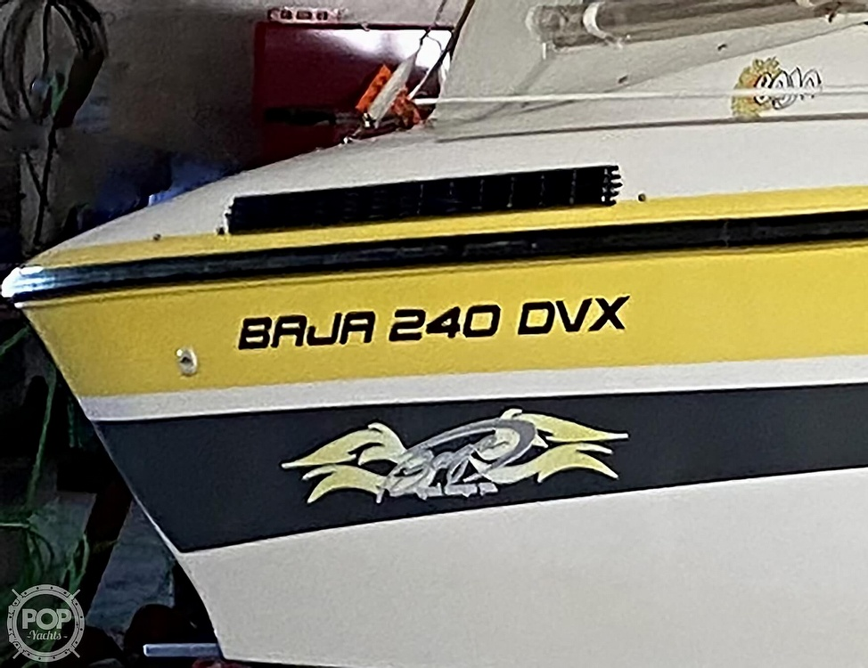 1990 Baja boat for sale, model of the boat is 240 DVX & Image # 23 of 40