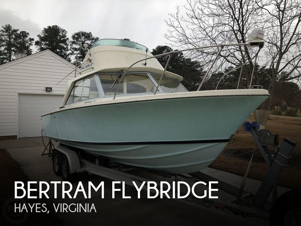 1971 Bertram boat for sale, model of the boat is Flybridge & Image # 1 of 40